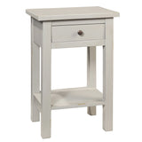 Tarakan End Table, Glacier Gray