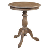 Serang Accent Table, Gray Wash
