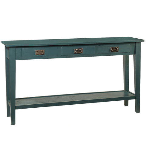 Chewi Console, Ocean Green