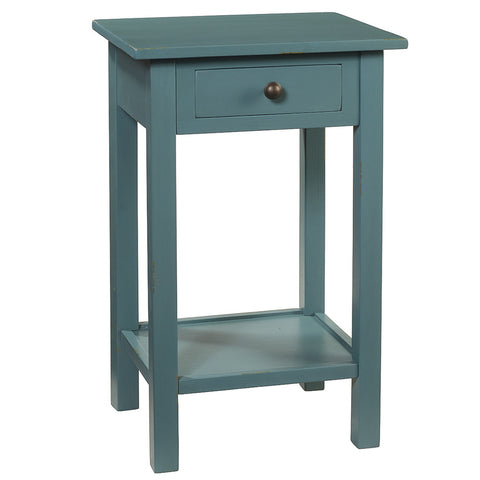 Griffin Side Table, Teal