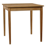 "Farmhouse Dining Table 40"" x 40"" x 40"", Natural"