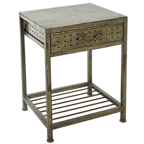 Asteria Iron Side Table