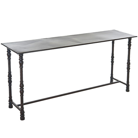 Dryad Iron Console Table