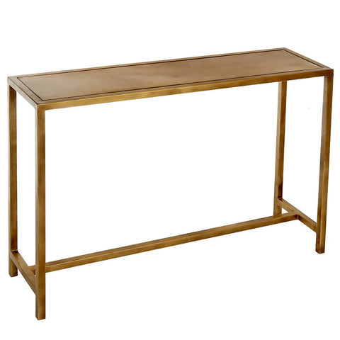 Hemera Iron Console Table, Copper