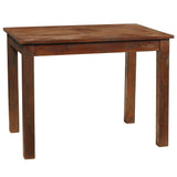 Cimahi Table, Light Mahogany
