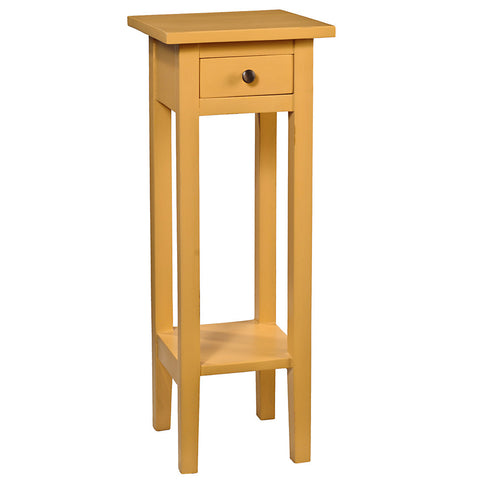 Sumatra Pedestal Table, Sunset Gold