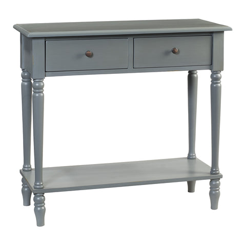 Balai Table, Slate Blue