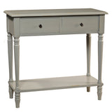 Balai Table, Glacier Gray