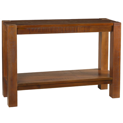 Rory Modern Rustic Console, Rustic Honey