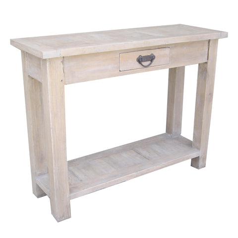 Provincetown One Drawer Console, Old Antique