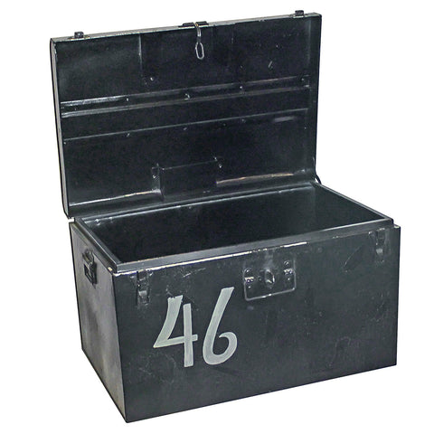 Douglas Iron Trunk, Black