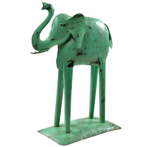 Iron Elephant, Green