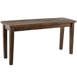 Mandra Wood Console Table, Multicolor