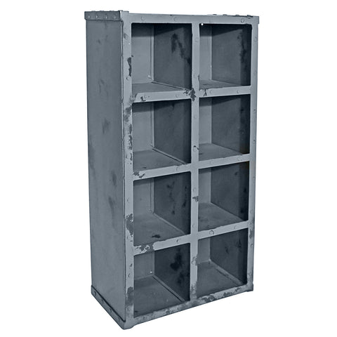 Iron Cubby, Gray Antique