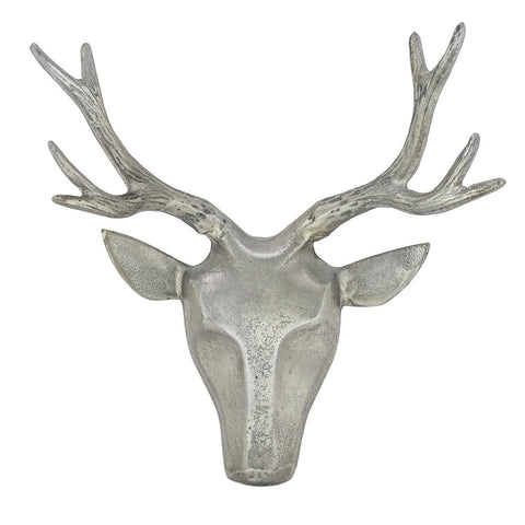 Deer Head, Pewter