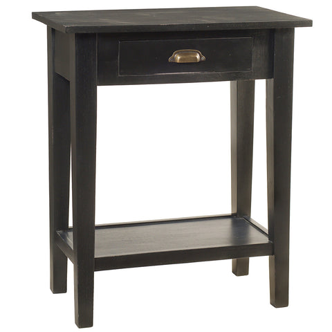 Chewi One Drawer Console, Black