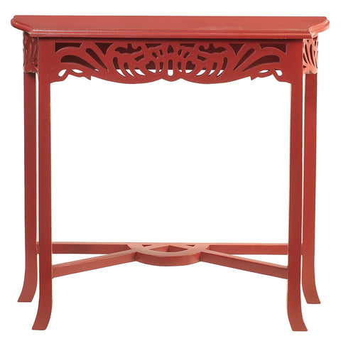 Asmara Table, True Red