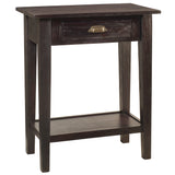 Chewi One Drawer Console, Espresso
