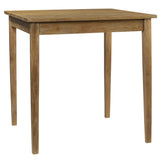 "Farmhouse Dining Table 40"" x 40"" x 40"", Gray Wash"