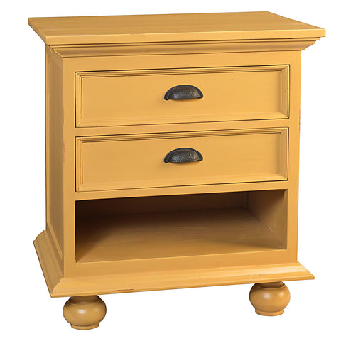 Cora Nightstand, Sunset Gold