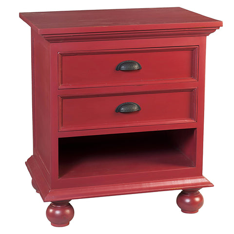 Cora Nightstand, True Red