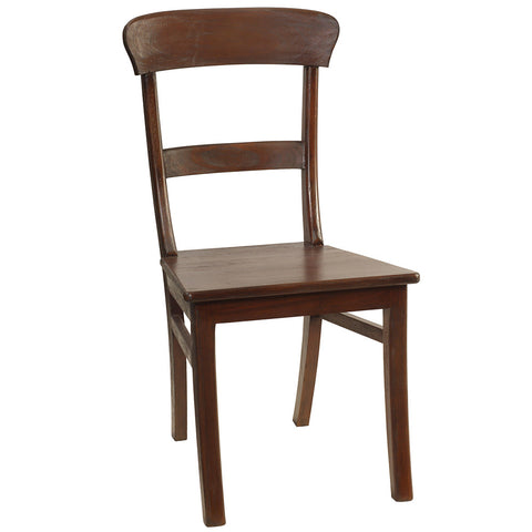 Napoleon Dining Chair, Dark Mahogany