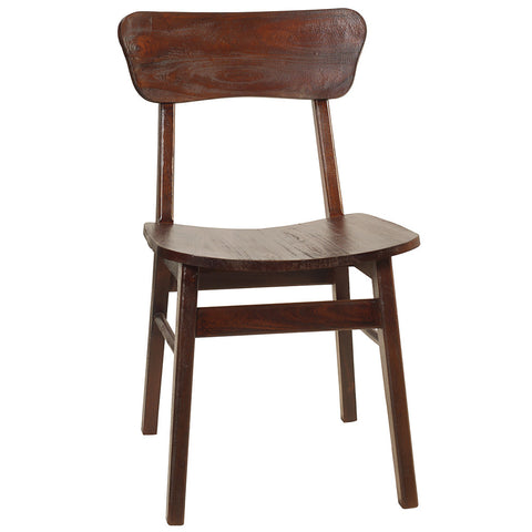 Ropal Dining Chair, Dark Mahogany