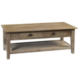 Chewi Coffee Table, Gray Wash