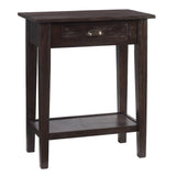 Chewi One Drawer Console, Walnut