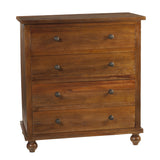 Bali 4 Drawer Chest, Honey