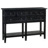 Hannah Console Table, Black