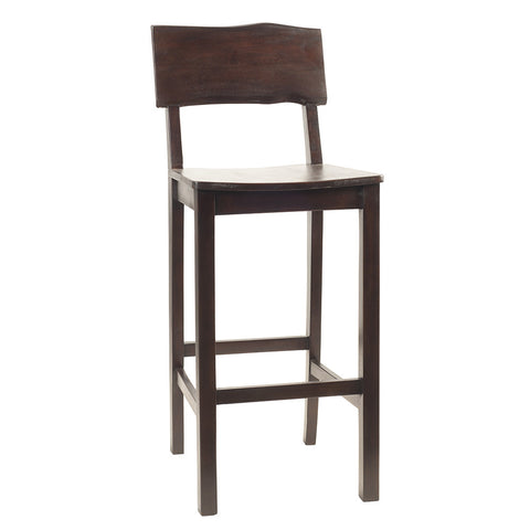 Live Edge Barstool, Walnut