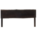 Live Edge Queen Headboard, Espresso