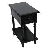 Para End Table, Black