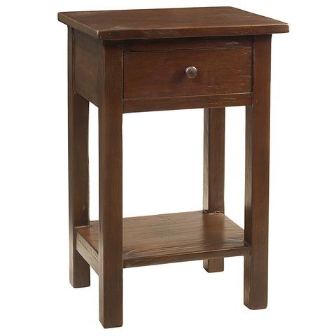 Tarakan End Table, Walnut