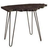 Illinois End Table, Rustic Espresso