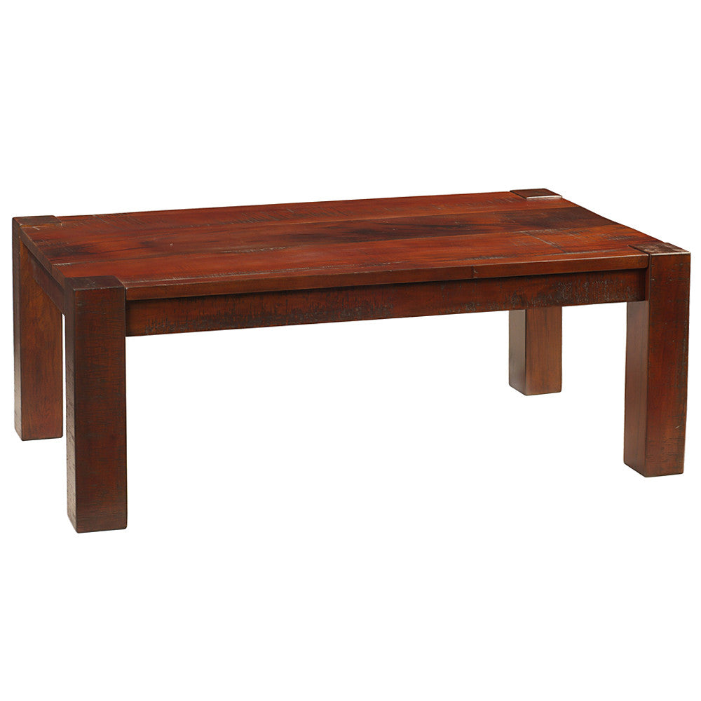 Maxwell modern rustic coffee table rustic tobacco geotapseo Gallery