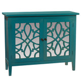Marilyn Mirror Cabinet, Teal