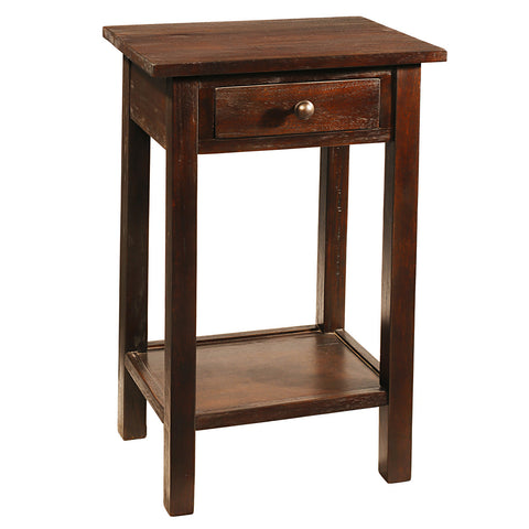 Griffin Side Table, Walnut