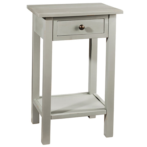 Griffin Side Table, Silver Gray