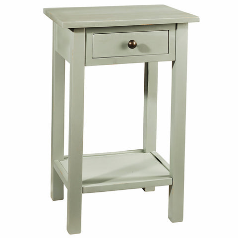 Griffin Side Table, Slate Blue
