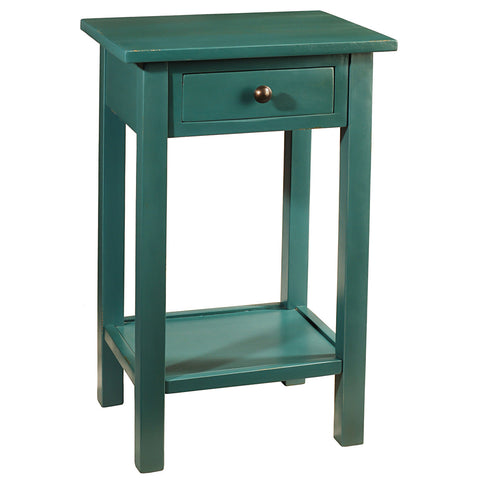 Griffin Side Table, Ocean Green
