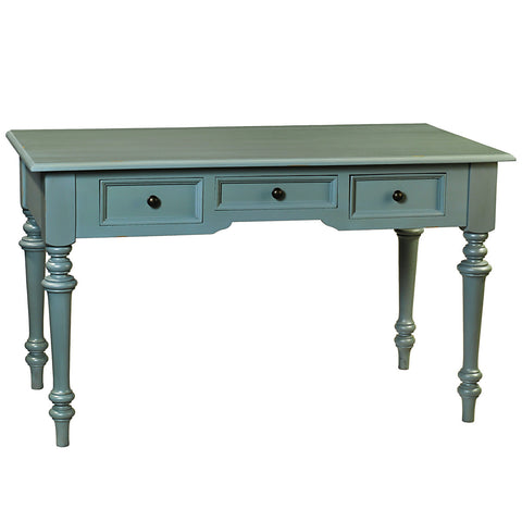 Clark Writing Desk, Slate Blue