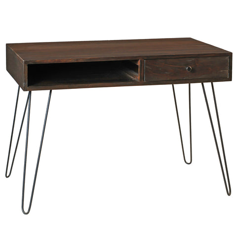 Chelsea Modern Desk, Walnut