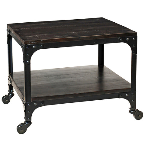 Bedford Side Table, Rustic Espresso