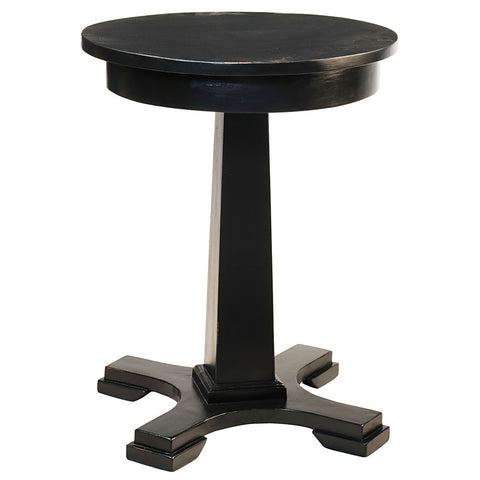 Empire Side Table, Black