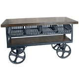 Bristow Four Drawer Trolley