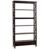 Allison Bookcase Extra Large, Espresso