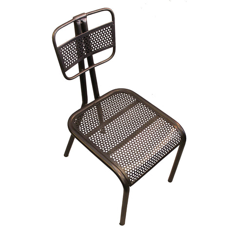Greyson Iron Mesh Chair