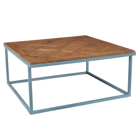 Portsmouth Iron and Wood Coffee Table